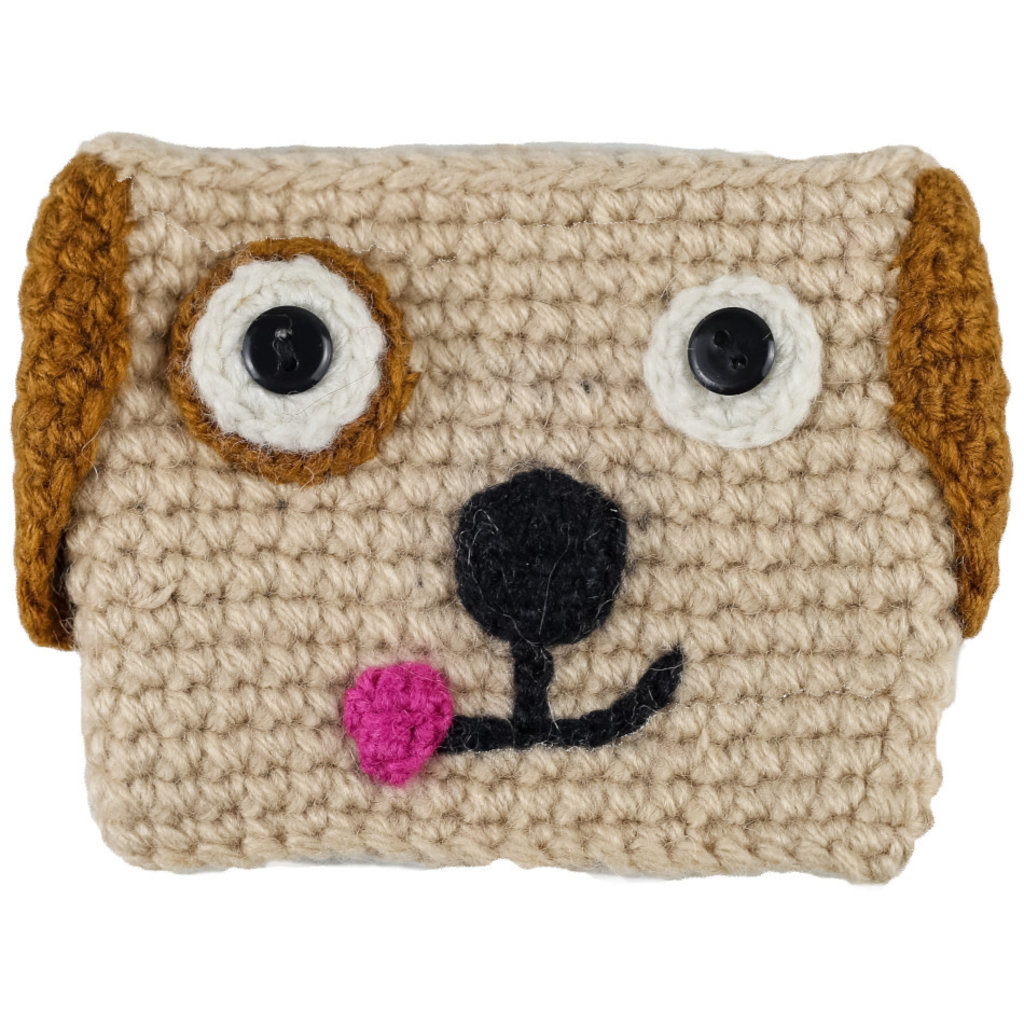 Andes Gifts Animal Cup Cozies: Dog