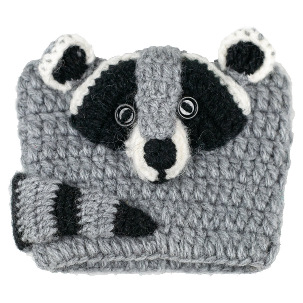 Andes Gifts Animal Cup Cozies: Raccoon