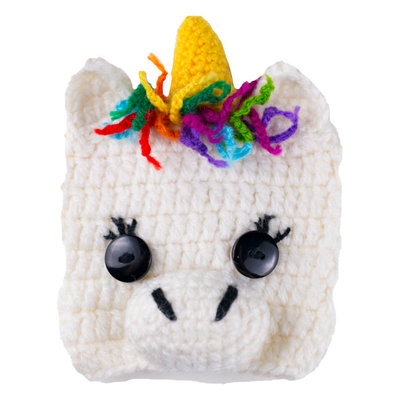 Andes Gifts Animal Cup Cozies: Unicorn