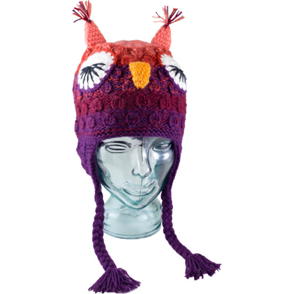 Andes Gifts Kids Animal Hat: Lady Owl