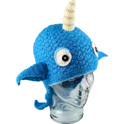 Andes Gifts Kids Animal Hat: Narwhal
