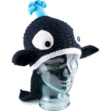 Andes Gifts Kids Animal Hat: Orca