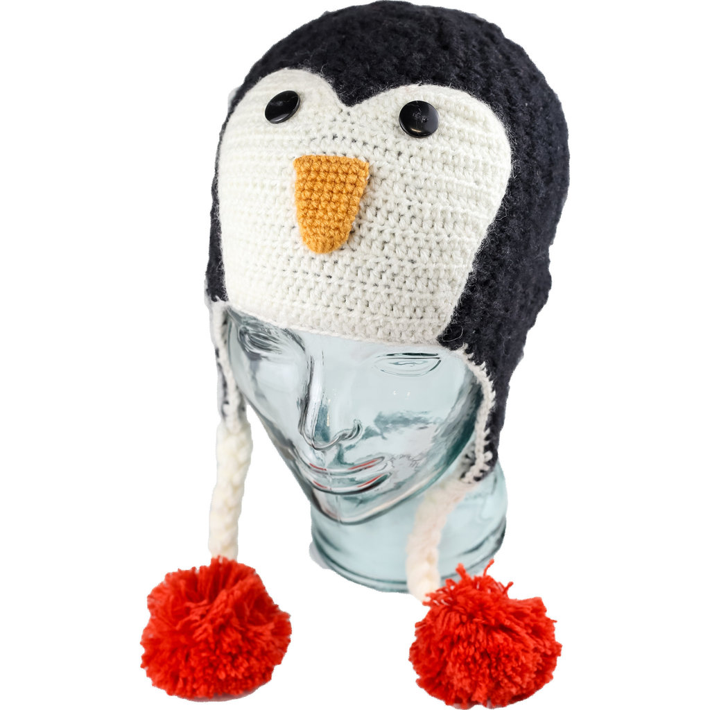 Andes Gifts Kids Animal Hat: Penguin