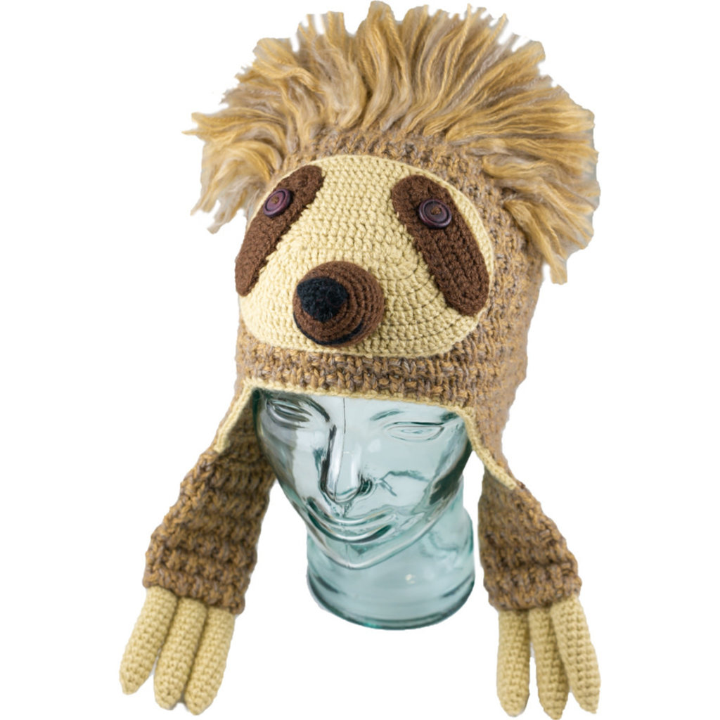 Andes Gifts Kids Animal Hat: Sloth