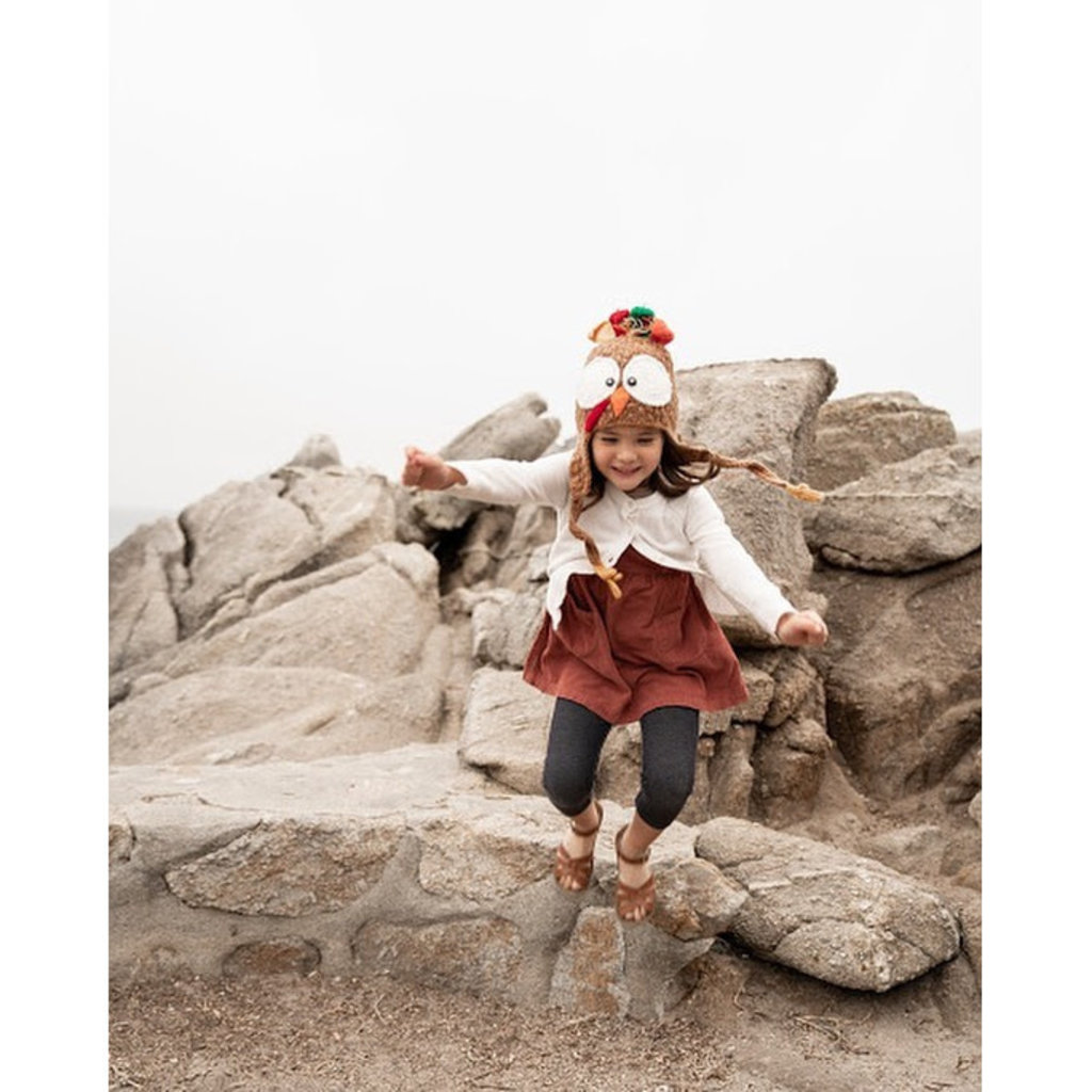 Andes Gifts Kids Animal Hat: Turkey