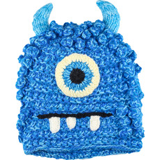 Andes Gifts Kids Monster Hat: Bally Blue