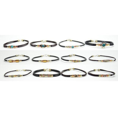 Minga Imports Simple Mixed Metal Bracelet