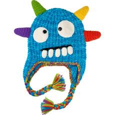 Andes Gifts Kids Monster Hat: Spike Blue