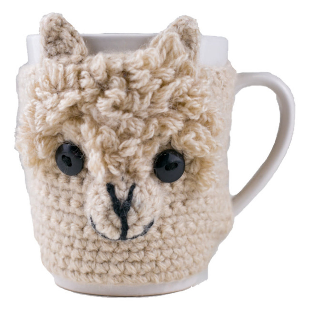Andes Gifts Animal Mug Cozies: Alpaca