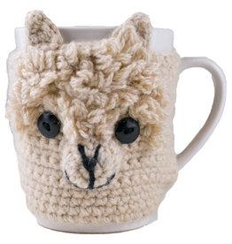 Andes Gifts Animal Mug Cozies: Alpaca