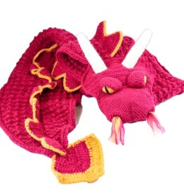 Andes Gifts Animal Winter Scarf: Dragon
