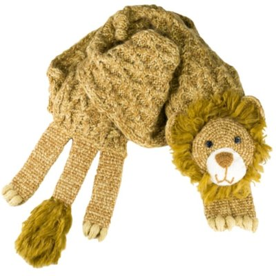 Andes Gifts Animal Winter Scarf: Lion