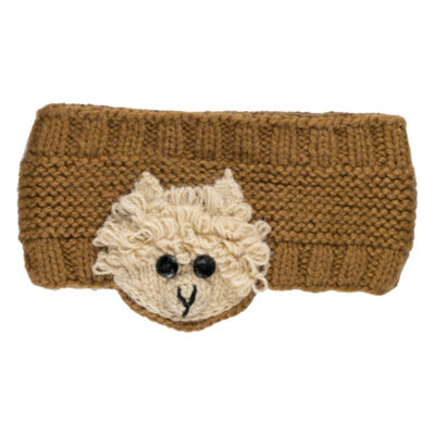 Andes Gifts Animal Earwarmers: Alpaca