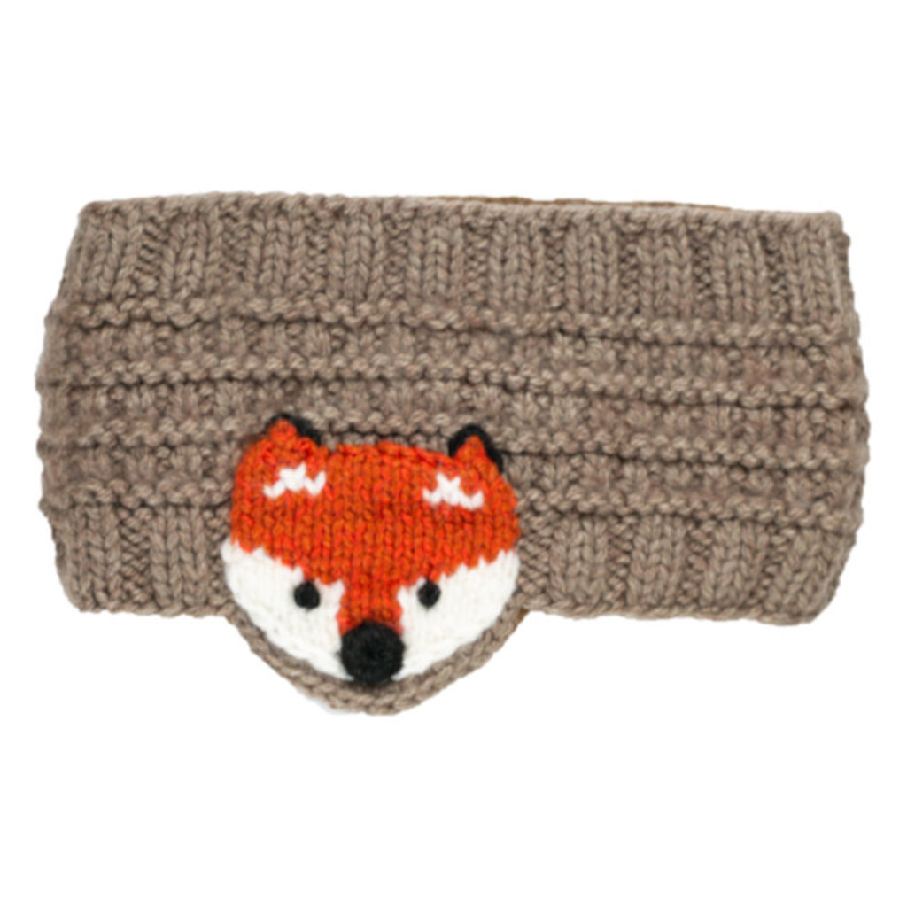 Andes Gifts Animal Earwarmers: Fox