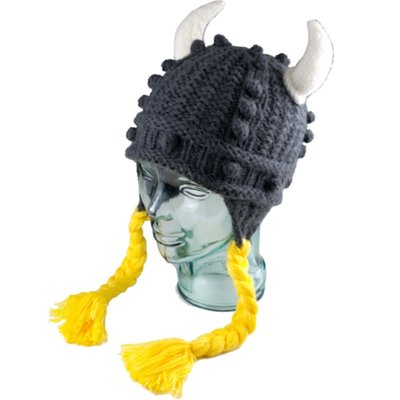 Andes Gifts Kids Adventure Hat: Viking with Braids