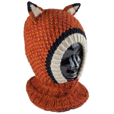 Andes Gifts Kids Animal Hood: Fox