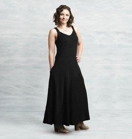 Maggie's Organics Two Way Maxi Dress Black
