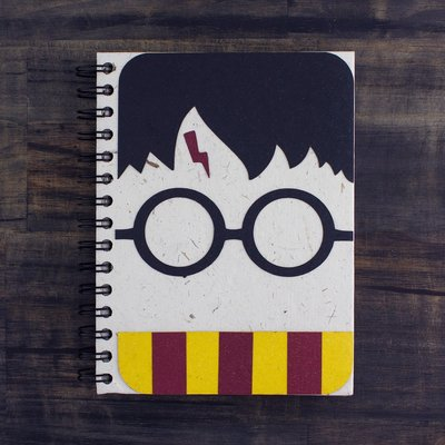 Mr Ellie Pooh Large Magical Wizard Boy Journal