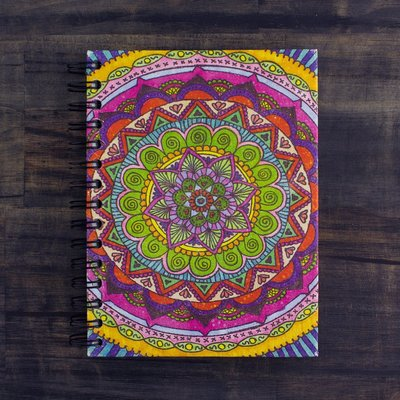 Mr Ellie Pooh Large Valentina Mandala Journal