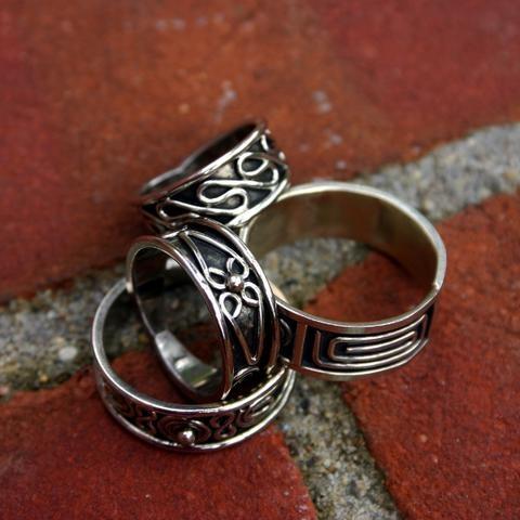 alpaca silver rings