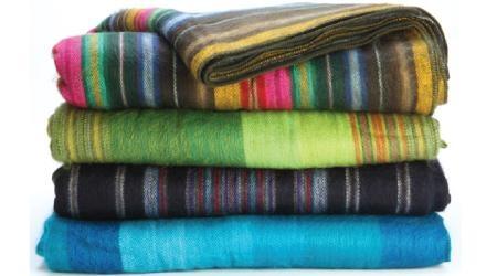 Woven Acrylic Blanket