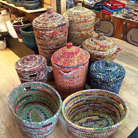 Sari baskets and hampers