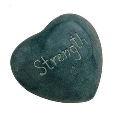 strength soapstone heart