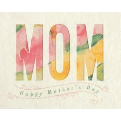 Good Paper Watercolor Mother's Day Card