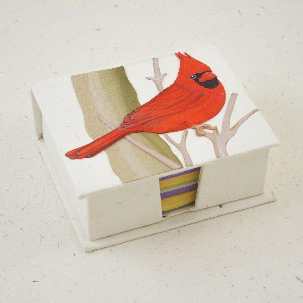 Mr Ellie Pooh Cardinal Note Box