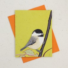 Mr Ellie Pooh Chickadee Greeting Card