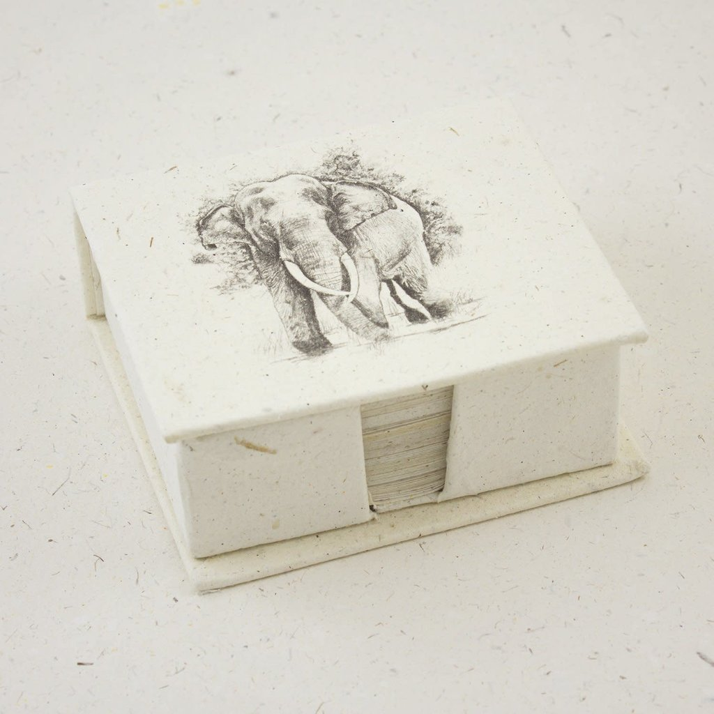 Mr Ellie Pooh Elephant Tusker Sketch Note Box
