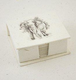 Mr Ellie Pooh Elephant Tusker Sketch Note Box