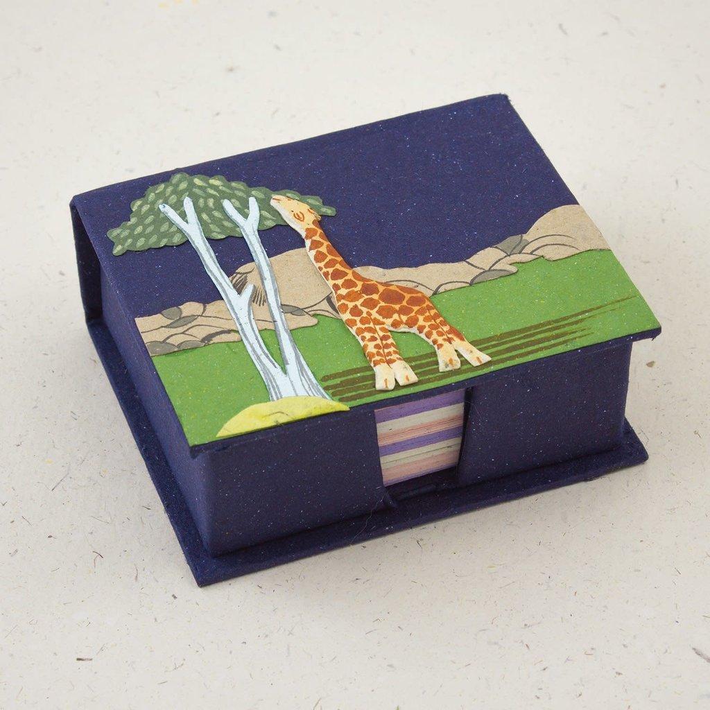 Mr Ellie Pooh Giraffe Note Box