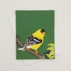 Mr Ellie Pooh Goldfinch Greeting Card