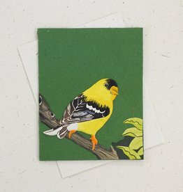 Mr Ellie Pooh Goldfinch Greeting Card