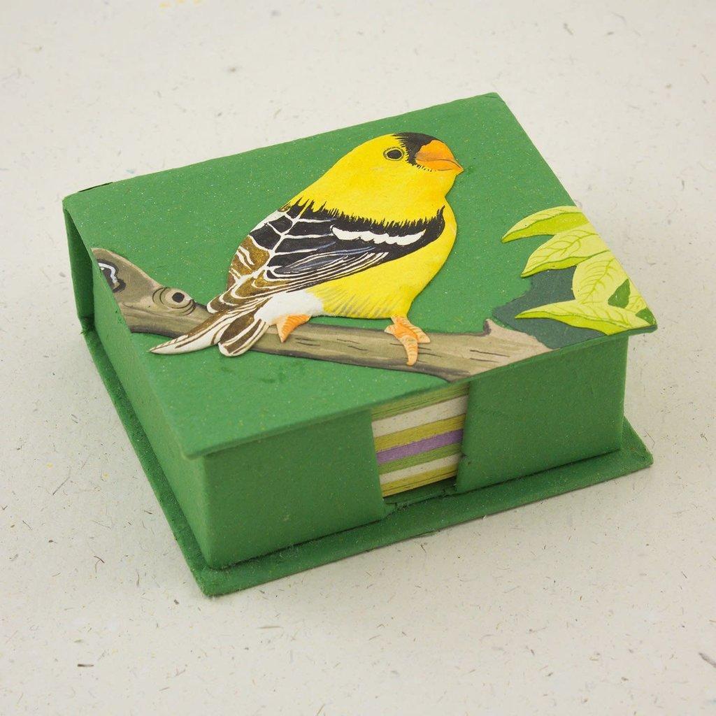Mr Ellie Pooh Goldfinch Note Box