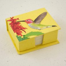 Mr Ellie Pooh Hummingbird Note Box