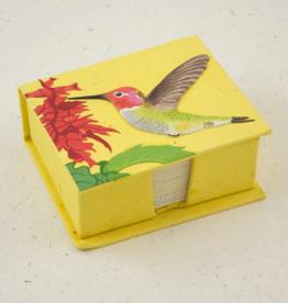 Mr Ellie Pooh Hummingbird Note Box