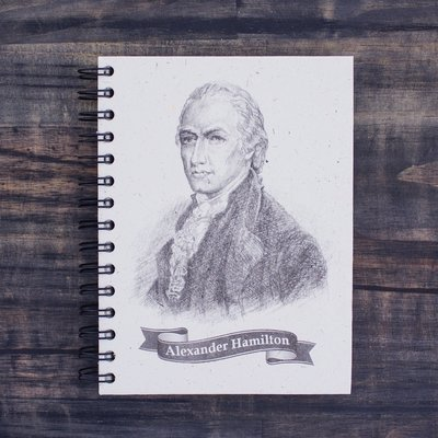 Mr Ellie Pooh Large Alexander Hamilton Sketch Journal