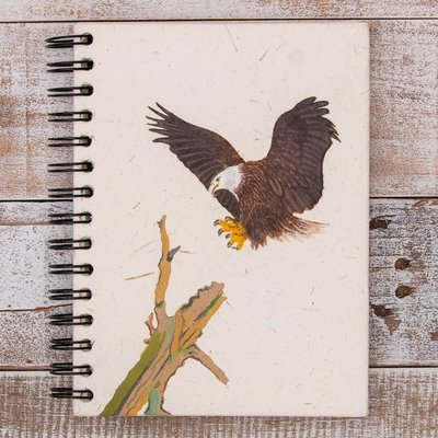 Mr Ellie Pooh Large American Bald Eagle Journal