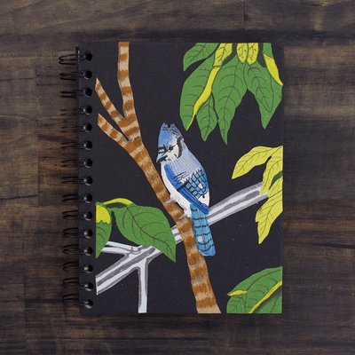 Mr Ellie Pooh Large Blue Jay Journal