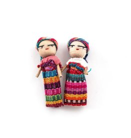 "Lucia's Imports 2"" Worry Doll"