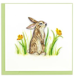 Quilling Card Rabbit Quilled Card