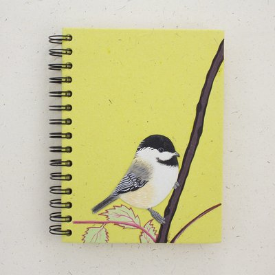 Mr Ellie Pooh Large Chickadee Journal