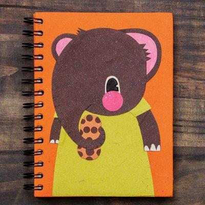 Mr Ellie Pooh Large Eddie the Elephant Journal