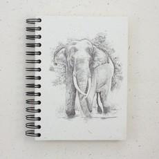 Mr Ellie Pooh Large Elephant Tusker Sketch Journal