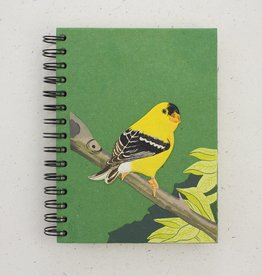 Mr Ellie Pooh Large Goldfinch Journal