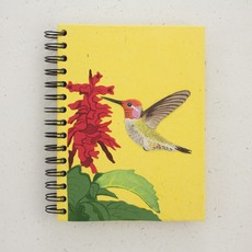 Mr Ellie Pooh Large Hummingbird Journal