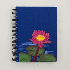 Mr Ellie Pooh Large Lotus Flower Journal