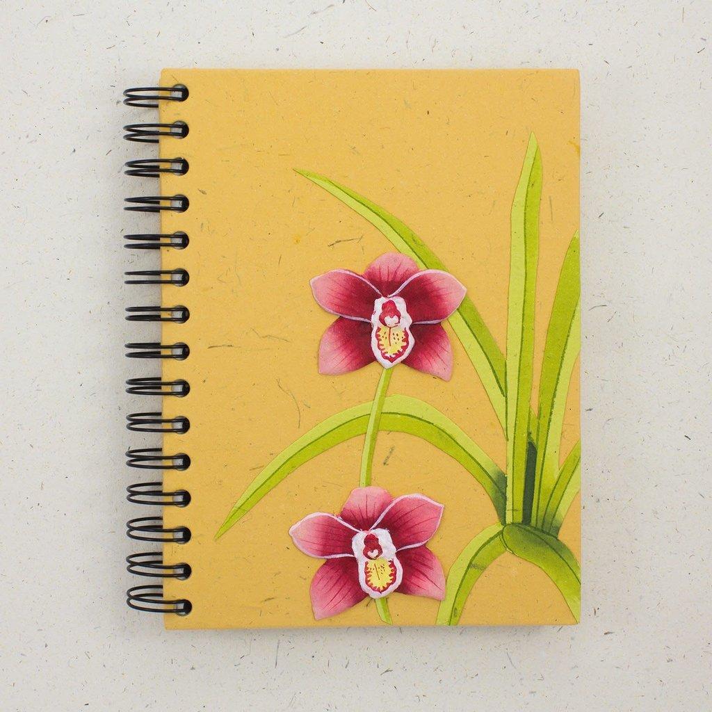 Mr Ellie Pooh Large Orchid Flower Journal